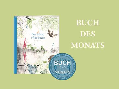 Hase ohne Nase Empfehlung: Buch des Monats März