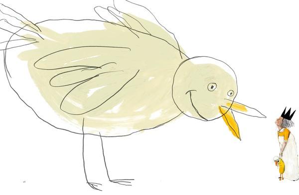 Prinzessin Valentina möchte sprechenden Vogel küssen