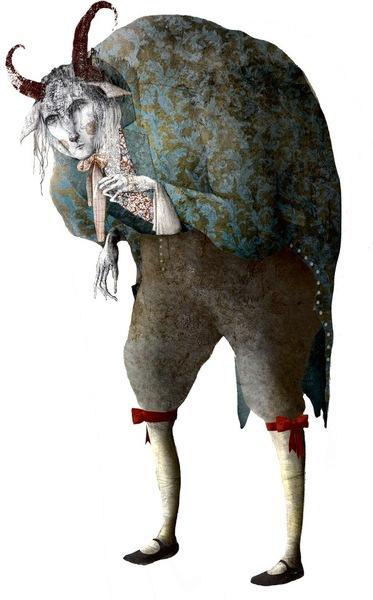 Das ungestüme Tier im prachtvollen Anzug