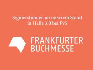 Signierstunden am bei H3.0 F95 Frankfurter Buchmesse BOHEM STAND