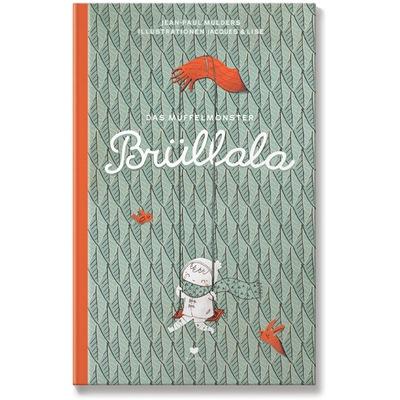 Coverbild zeigt fröhliches, an Brüllalas Arm, schaukelndes Mädchen